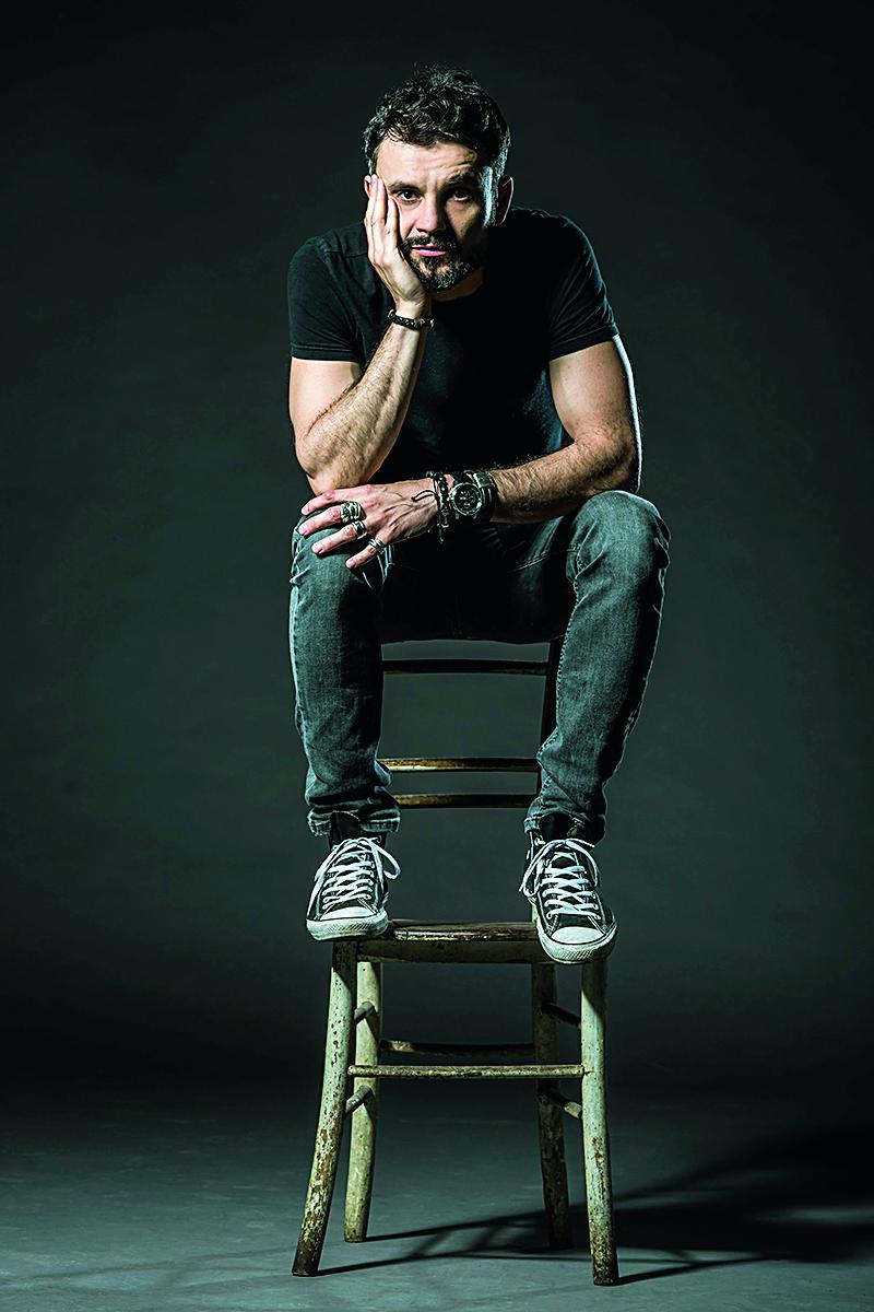 Zagreb, 230418.  Andrej Dojkic, glumac kazalista Gavella. Foto: Neja Markicevic / CROPIX