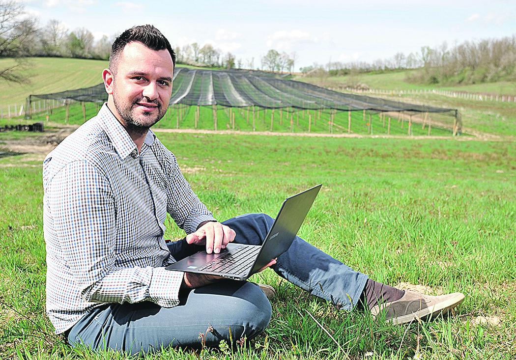 Matija Žulj, direktor tvrtke AGRIVI