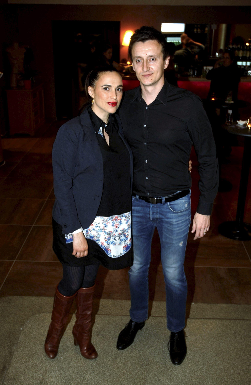 Marijana Mikulić sa suprugom Josipom