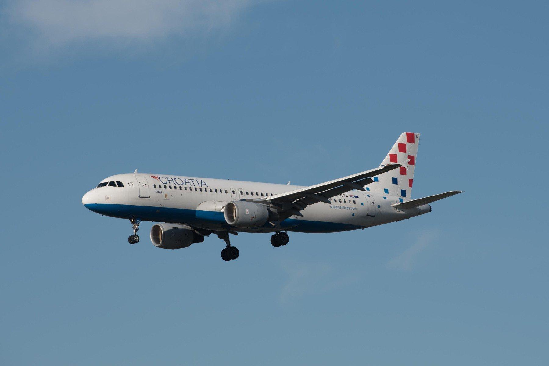 Croatia Airlines, ilustracija