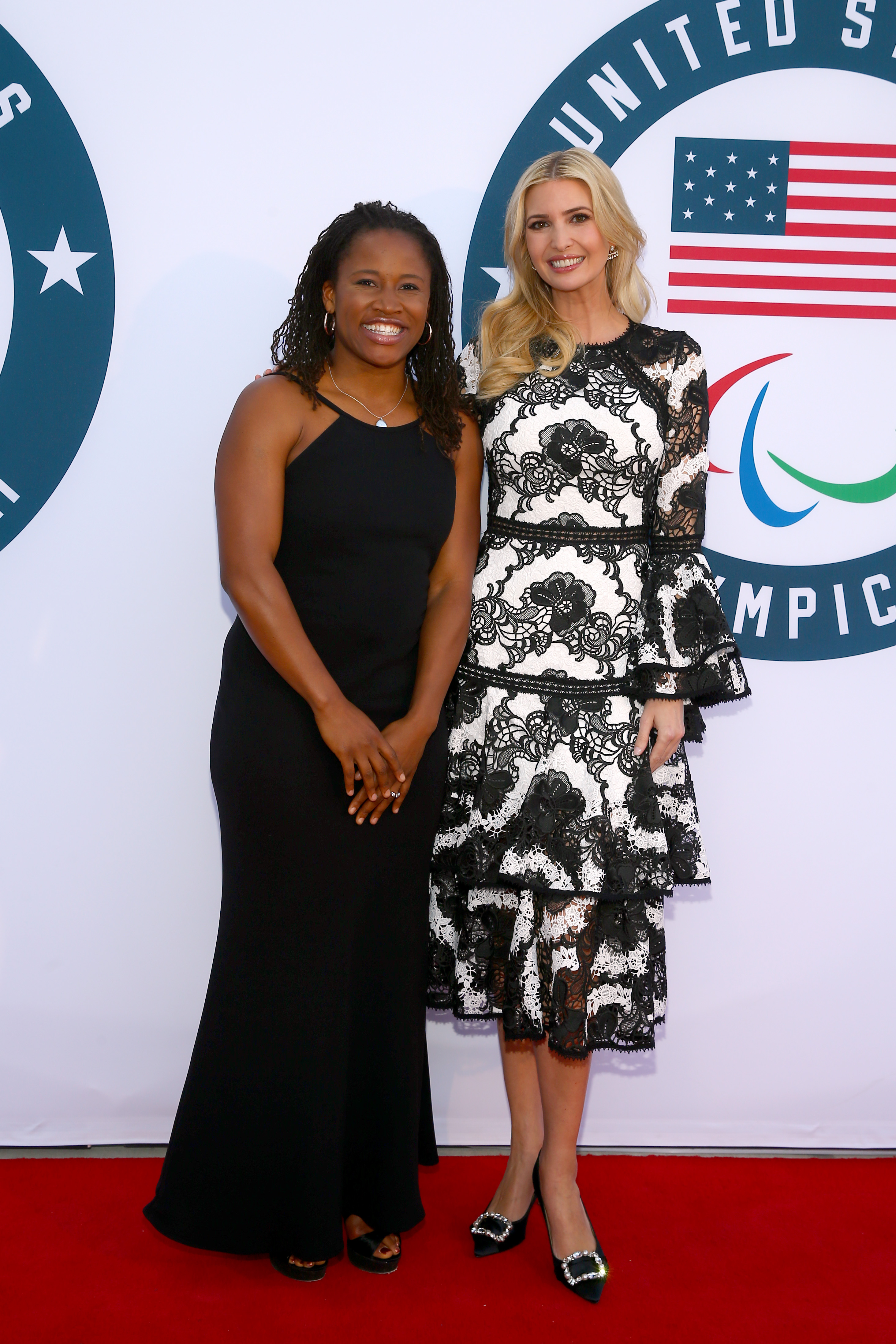 WASHINGTON, DC - APRIL 26:  Marlene Dortch and Ivanka Trump attend the Team USA Awards at the Duke Ellington School of the Arts on April 26, 2018 in Washington, DC.  (Photo by Tasos Katopodis/Getty Images for USOC)