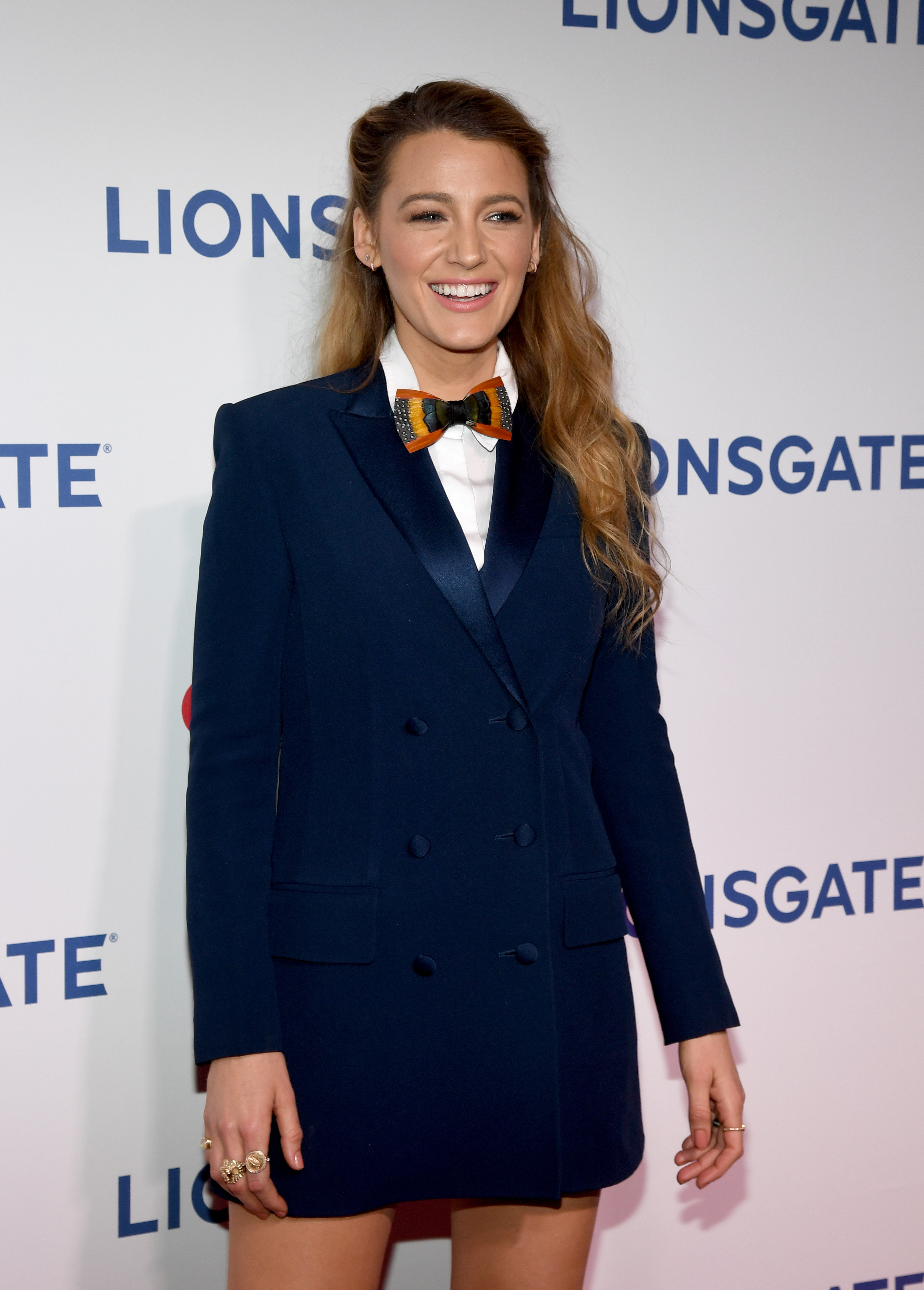 LAS VEGAS, NV - APRIL 26:  Actor Blake Lively attends CinemaCon 2018 Lionsgate Invites You to An Exclusive Presentation Highlighting Its 2018 Summer and Beyond at The Colosseum at Caesars Palace during CinemaCon, the official convention of the National Association of Theatre Owners, on April 26, 2018 in Las Vegas, Nevada.  (Photo by Ethan Miller/Getty Images for CinemaCon)