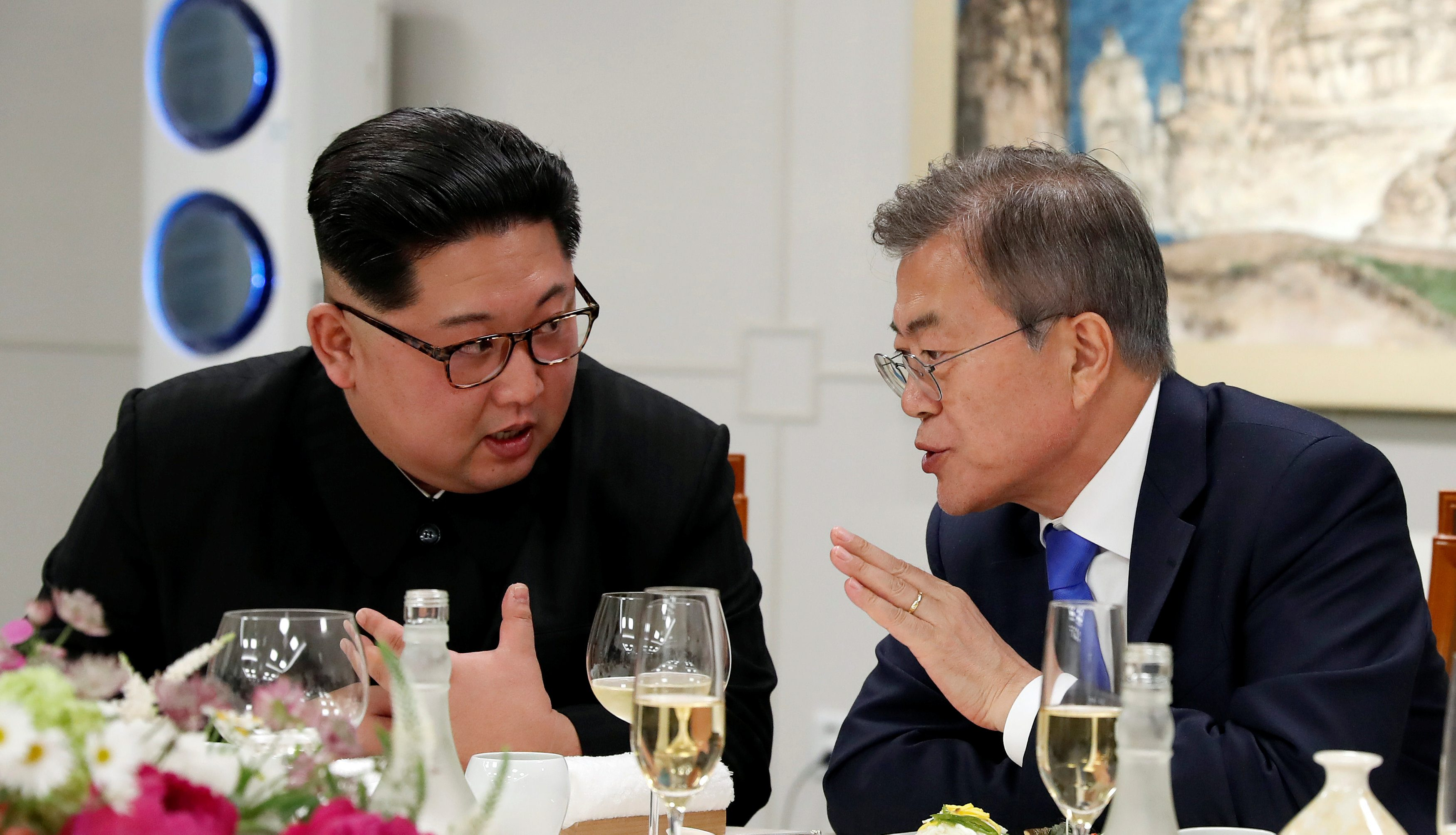 Kim Jong-un i Moon Jae-in