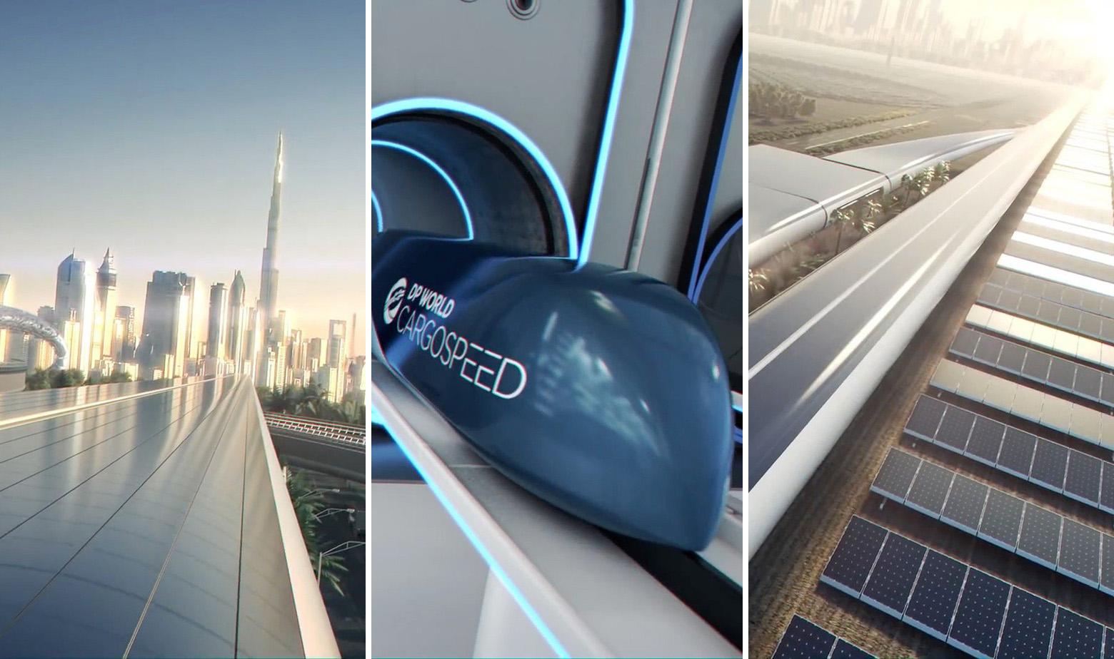 Simulacija izgleda Hyperloopa