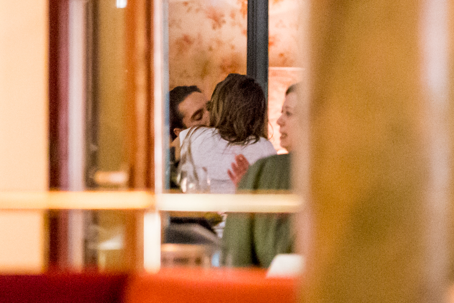 EXCLUSIVE: **PREMIUM EXCLUSIVE RATES APPLY** Heidi Klum and Tom Kaulitz at the Borchardt Restaurant in Berlin, Germany. The supermodel and the musician decided to dine at the Borchardt Restaurant on Sunday night.In the restaurant they kissed again and again and exchange caresses. When they left the restaurant, they came out in good spirits with Tom's brother Bill Kaulitz and fashion designer Michael Michalski <P> Pictured: Heidi Klum, Tom Kaulitz <B>Ref: SPL1689442  300418   EXCLUSIVE</B><BR/> Picture by: Splash News<BR/> </P><P> <B>Splash News and Pictures</B><BR/> Los Angeles:310-821-2666<BR/> New York:212-619-2666<BR/> London:870-934-2666<BR/> <span id=