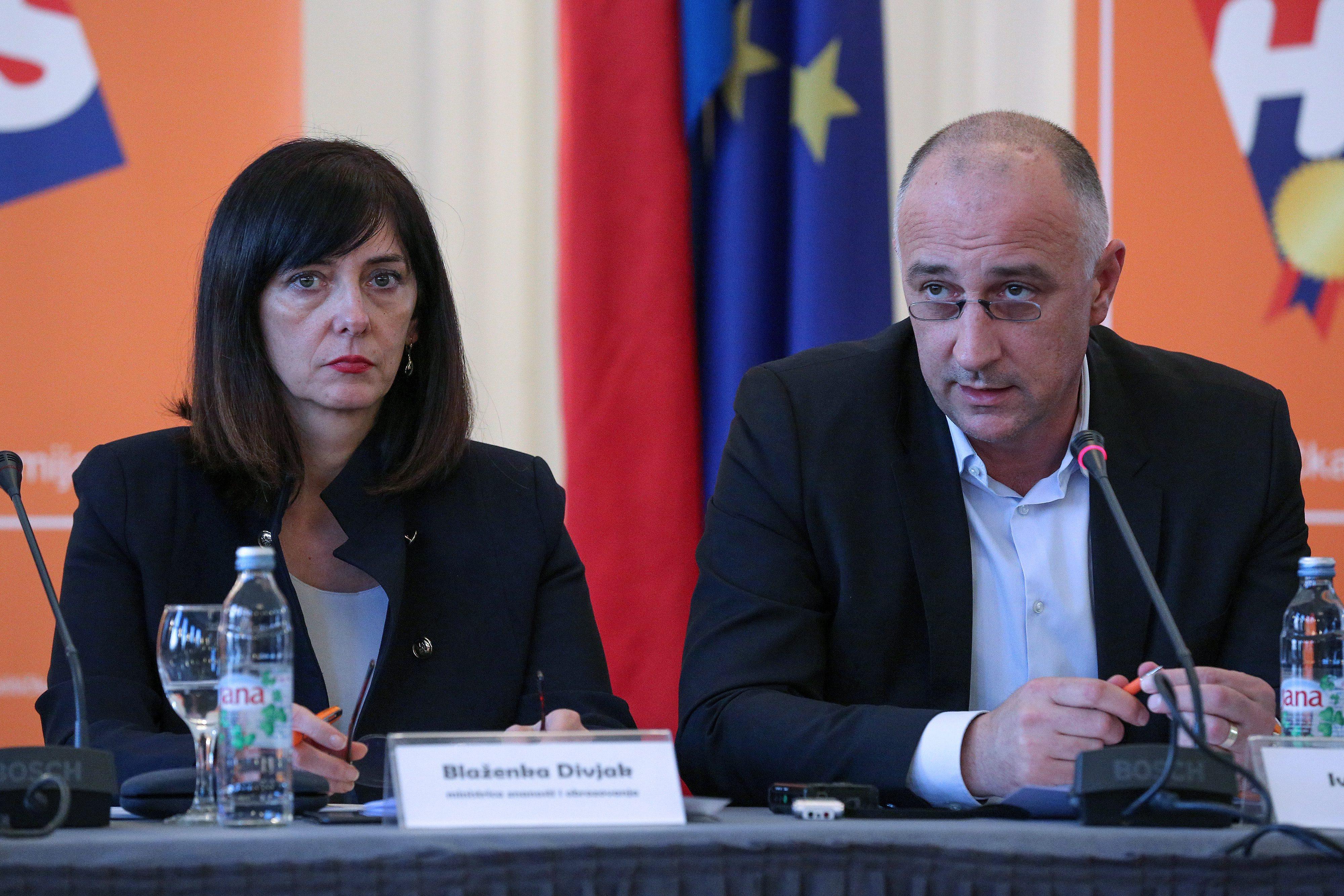 Blaženka Divjak i Ivan Vrdoljak