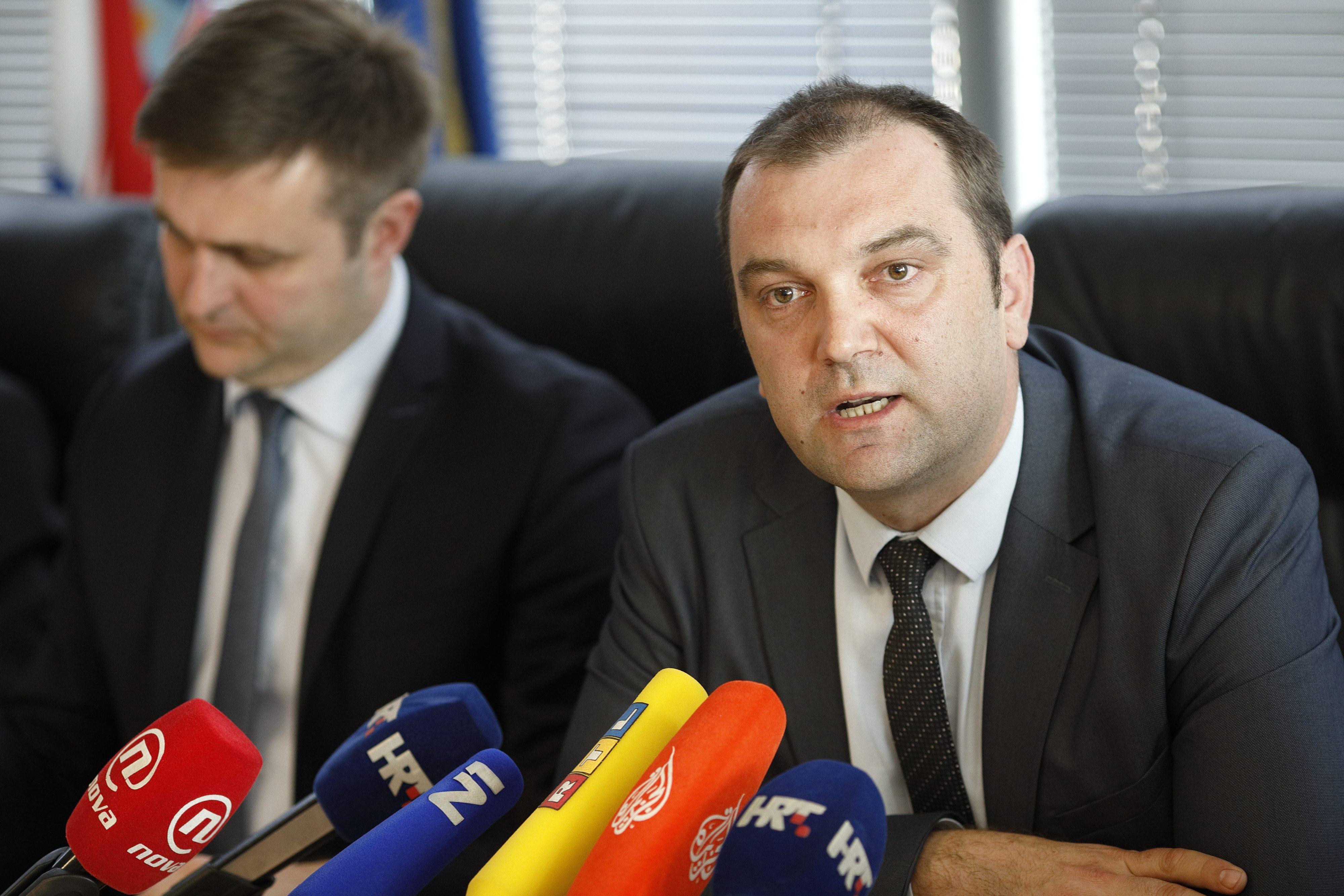 Na fotografiji: državni tajnik Mario Šiljeg