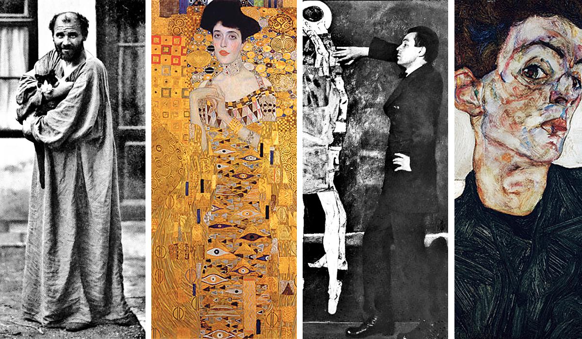 Gustav Klimt (lijevo) i Egon Schiele
