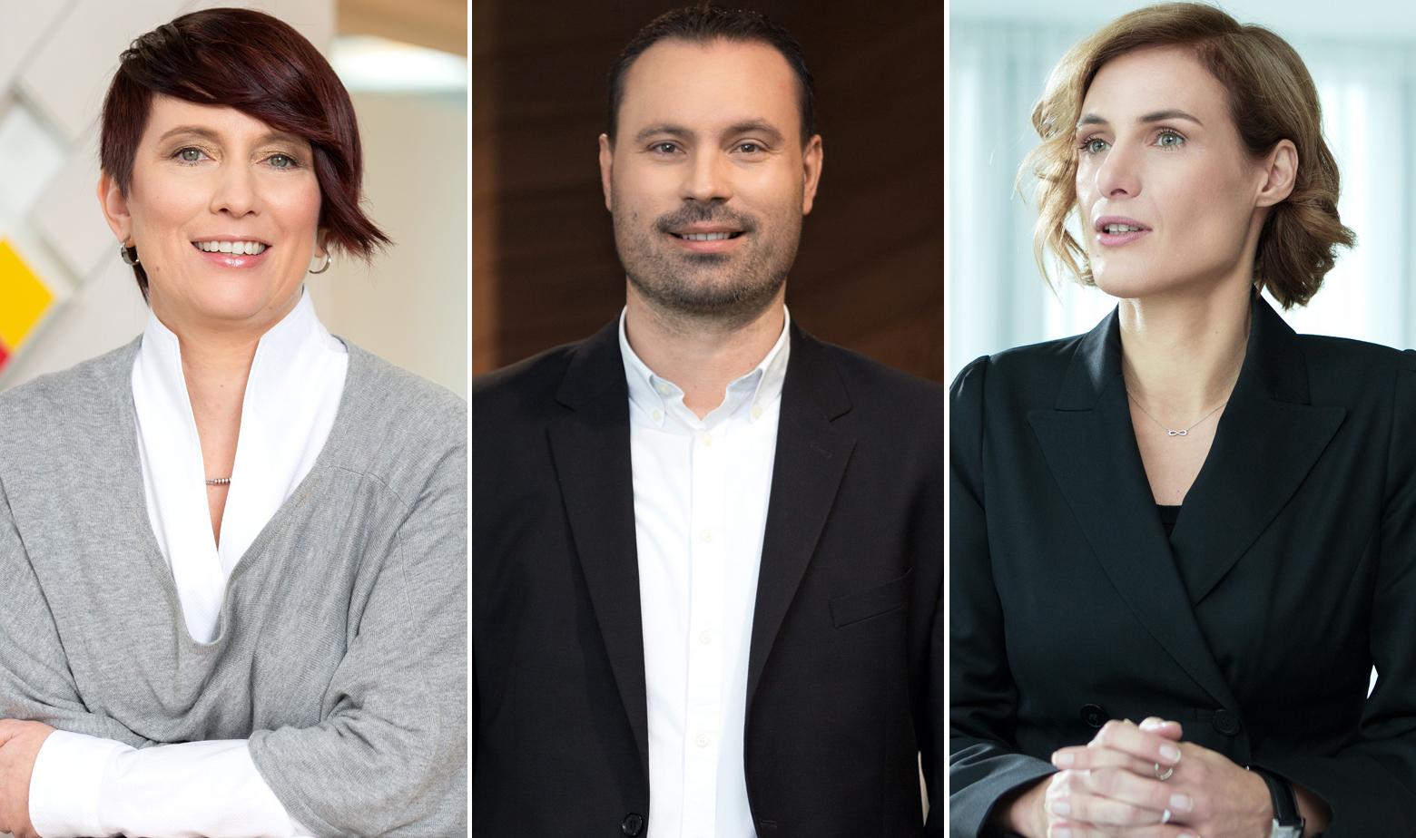 Jasmina Tome, Stanko Kršlović i Anita Letica