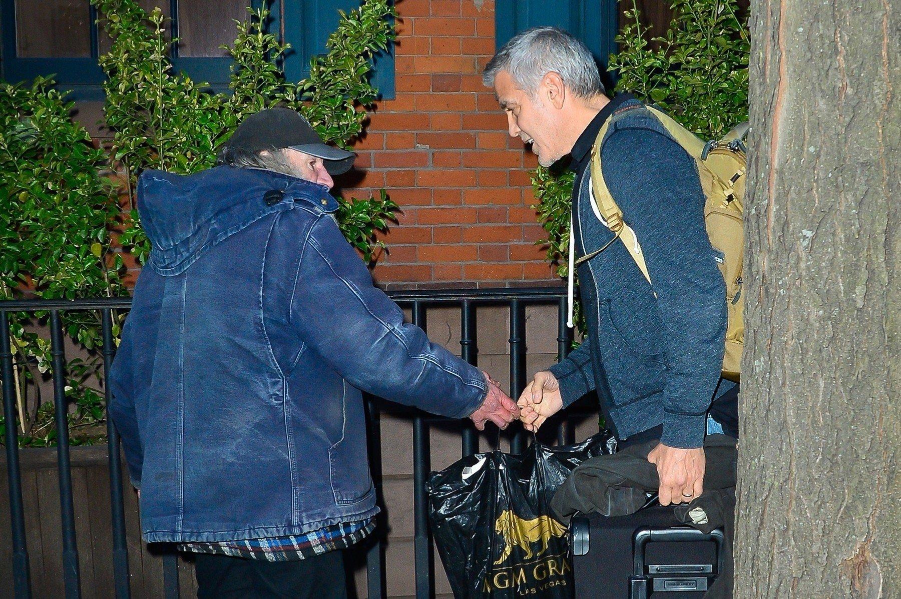 George Clooney i Radioman