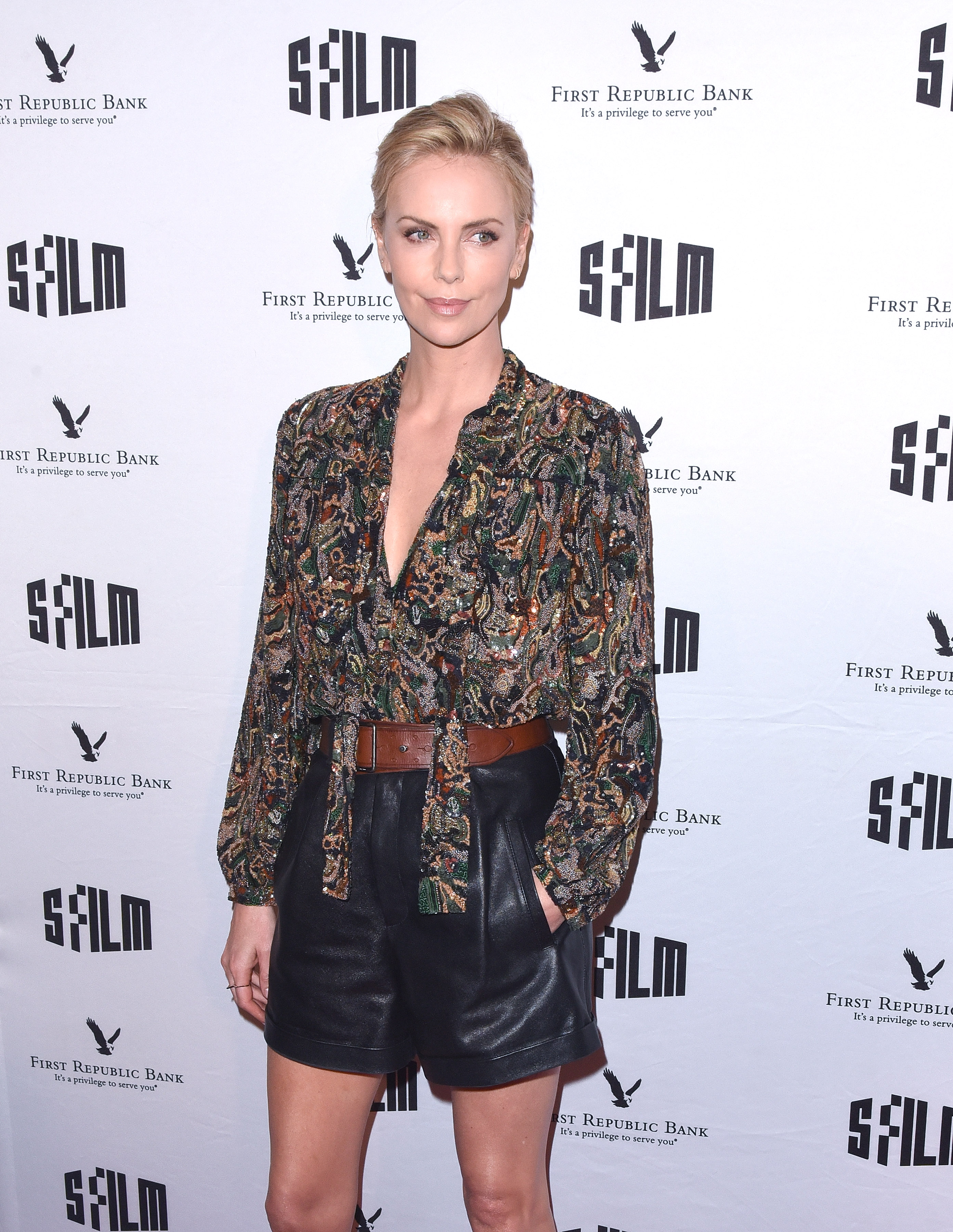 SAN FRANCISCO, CA - APRIL 08:  Charlize Theron attends the A Tribute To Charlize Theron: