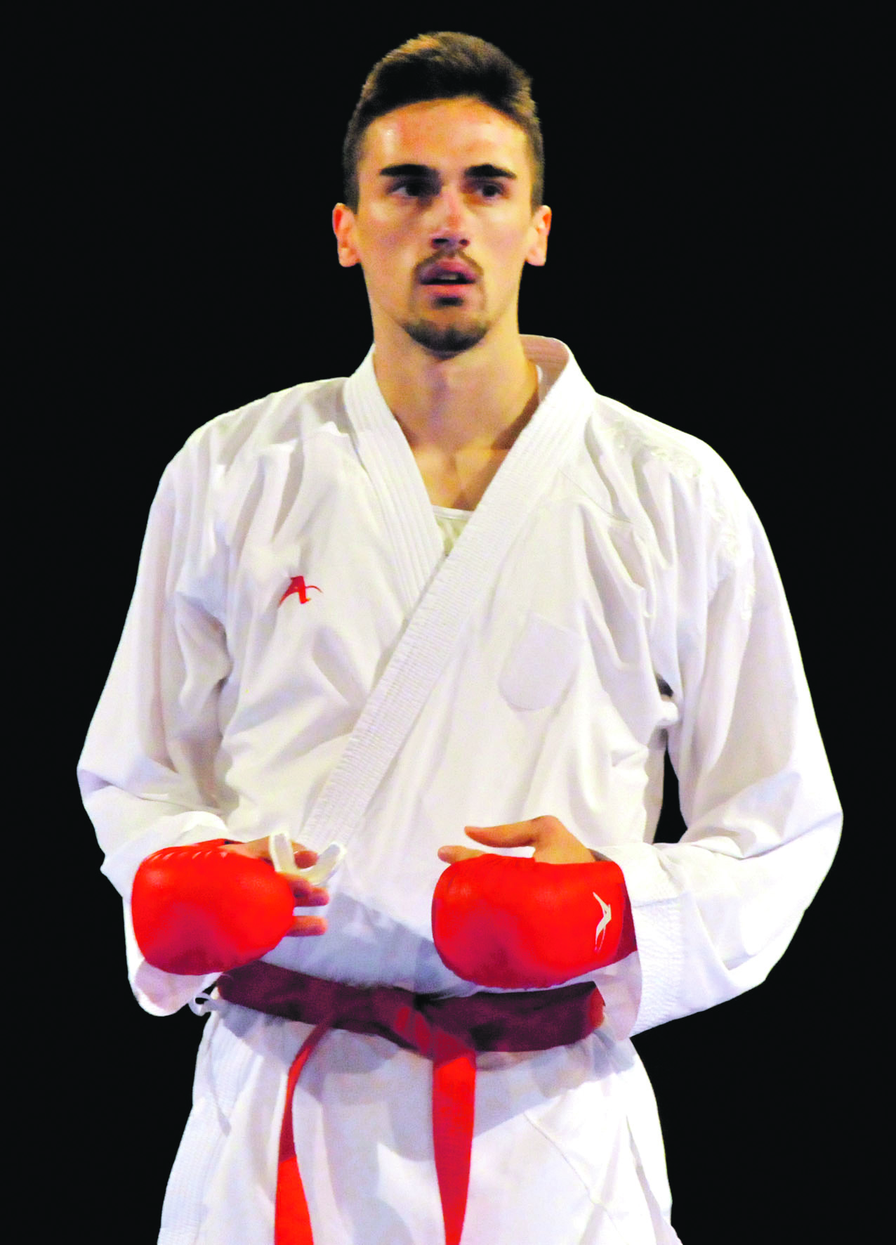 Siroki Brijeg, 26.11.2017. Karate turnir 7. Hercegovina Open Hrvatski reprezentativac Ivan Kvesic Snimio: Miljenko Karacic