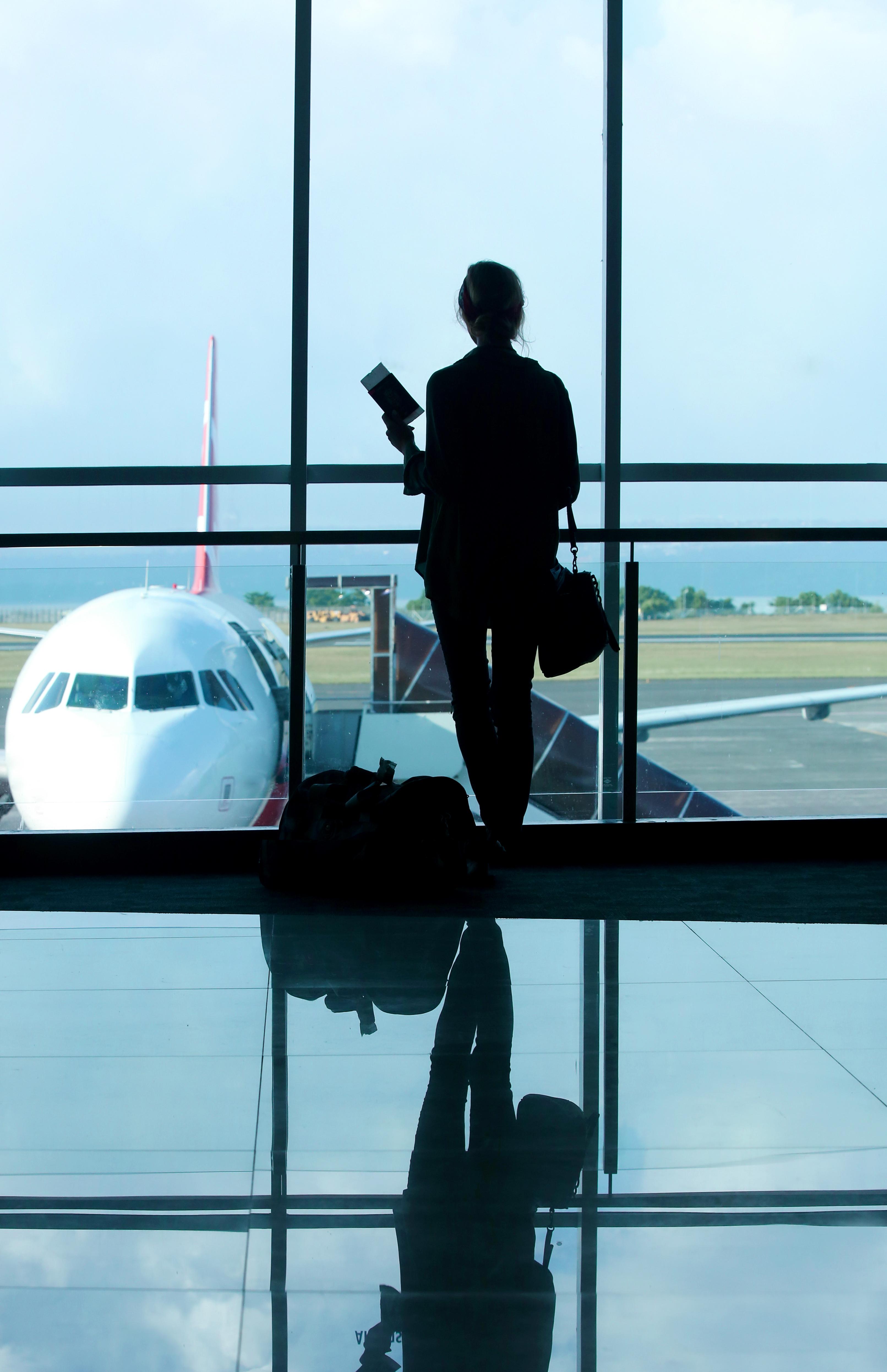 Putnik na zračnoj luci