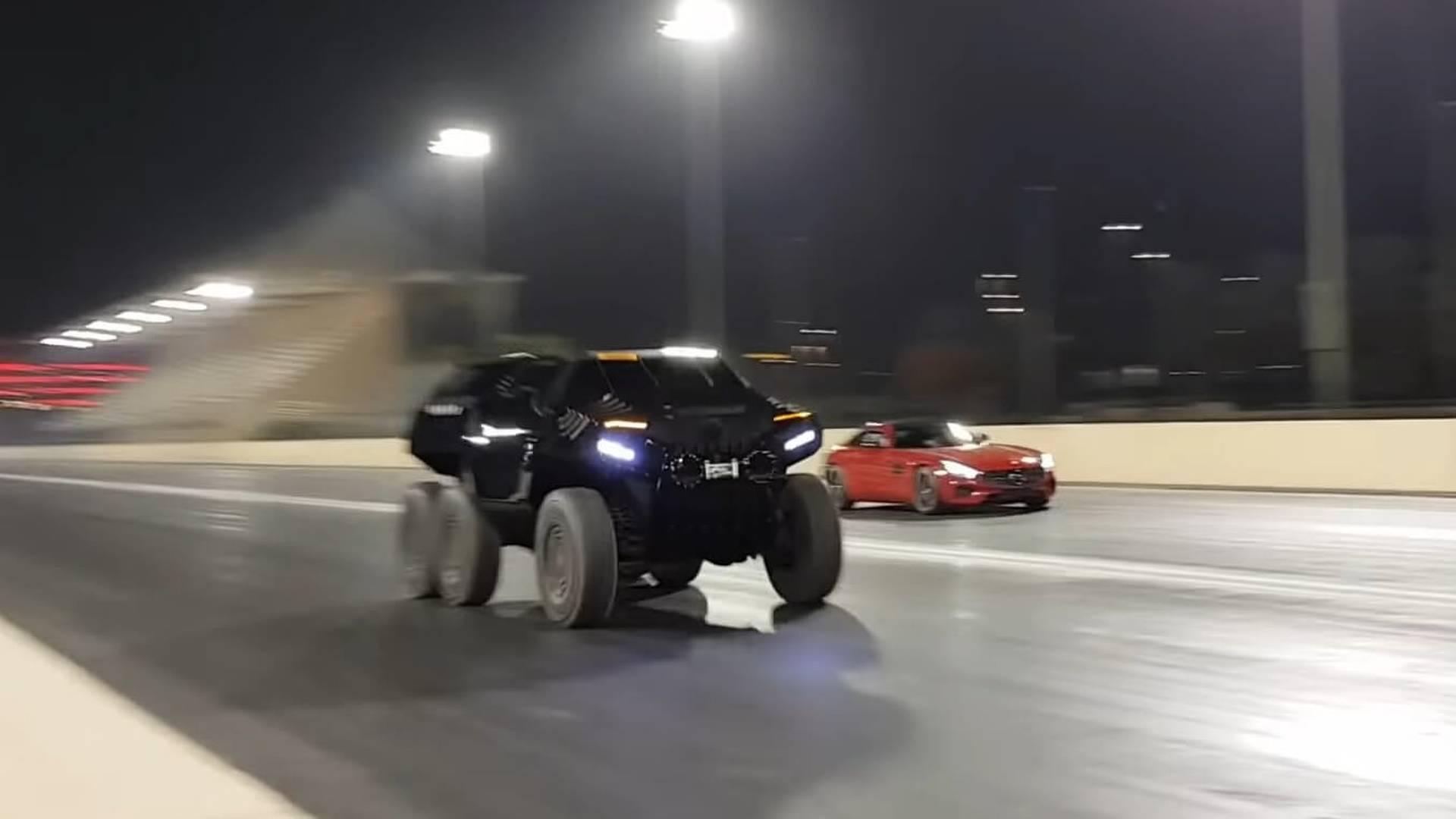 devel-sixty-mercedes-amg-gt-s-drag-race