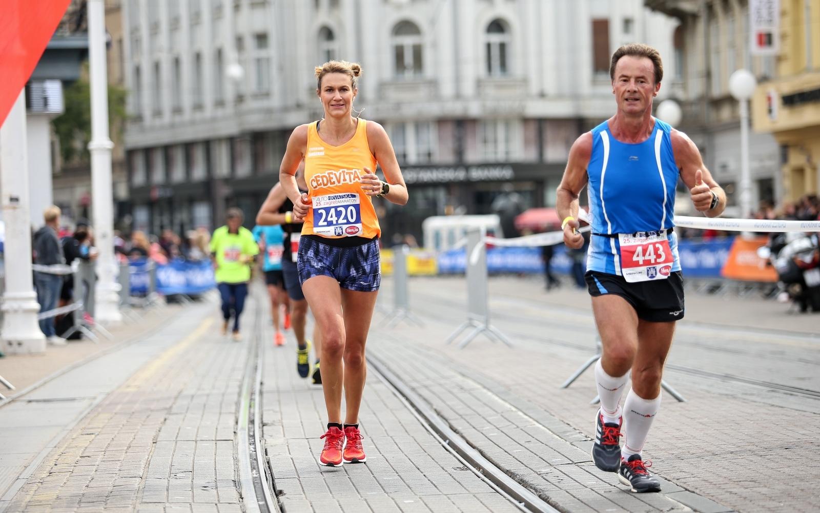09.10.2016., Zagreb - 25. Zagrebacki maraton, polumaraton i utrka gradjana na 5km. Lada Tedeschi Fiorio.  Photo: Petar Glebov/PIXSELL