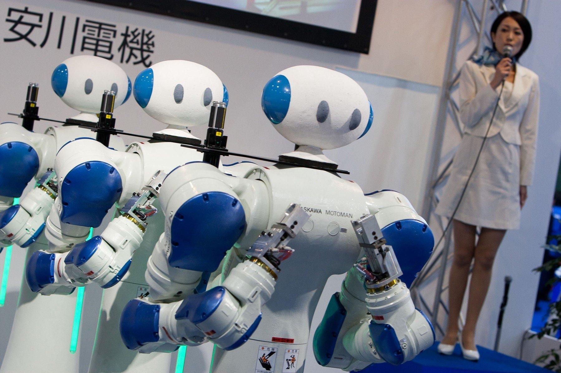 Motoman, robot japanske tvrtke Yaskawa iz 2009. godine