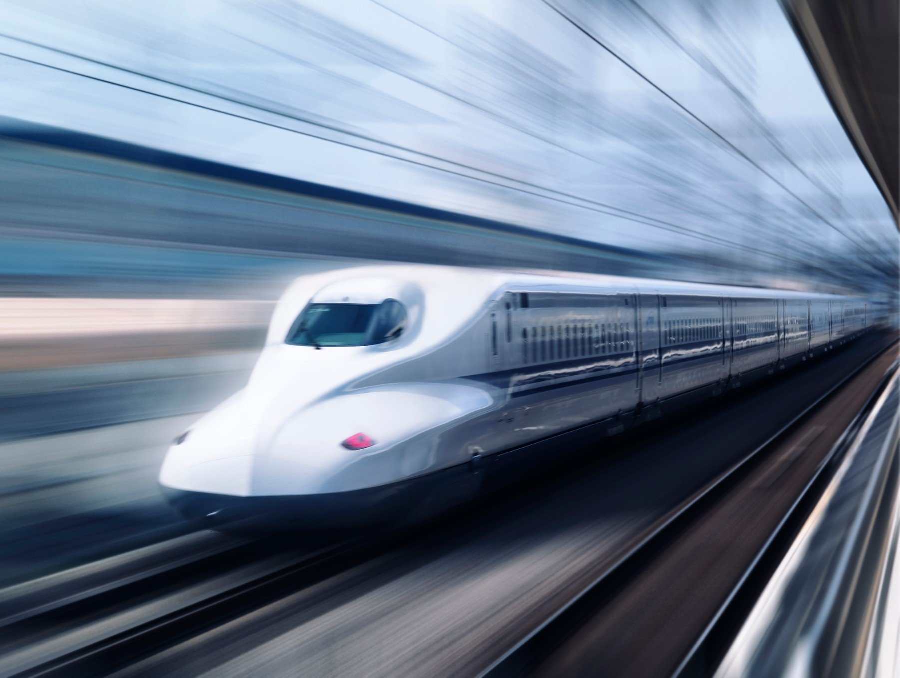 Japanski brzi vlak Shinkansen N700 Nozomi