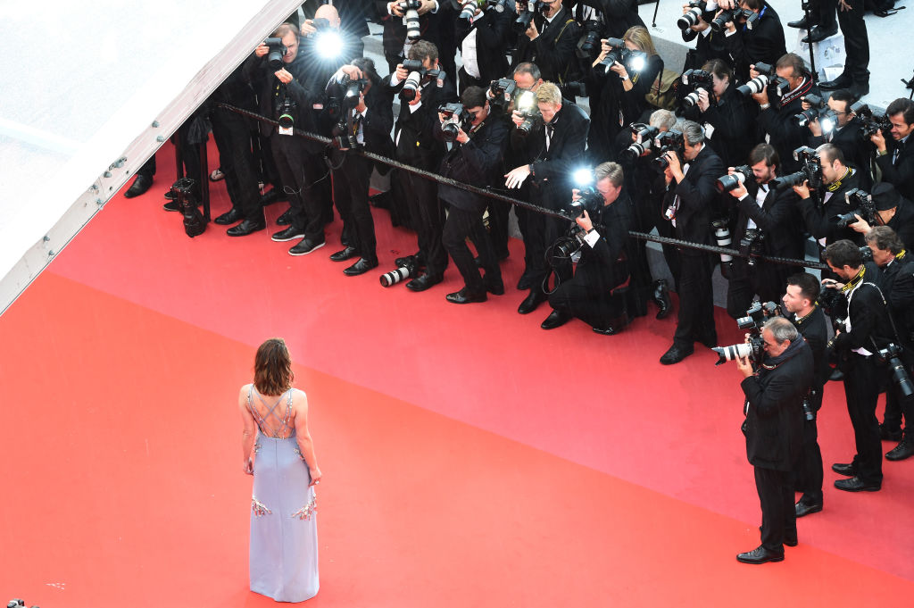 CANNES, FRANCE - MAY 16:  Mila Jovovich attends the screening of