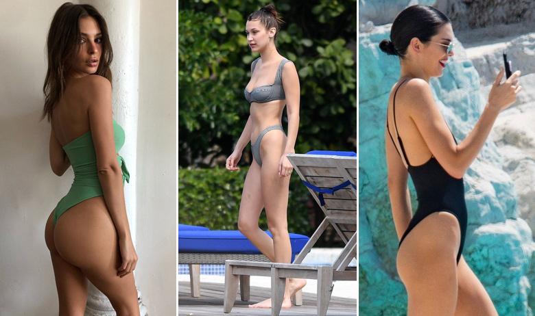 Emily Ratajkowski, Bella Hadid, Kendall Jenner