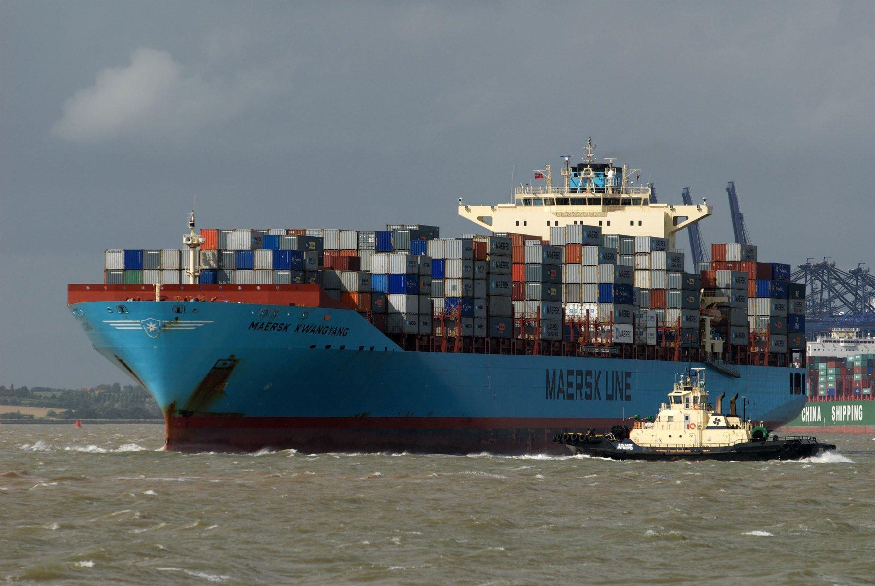Brod kompanije Maersk