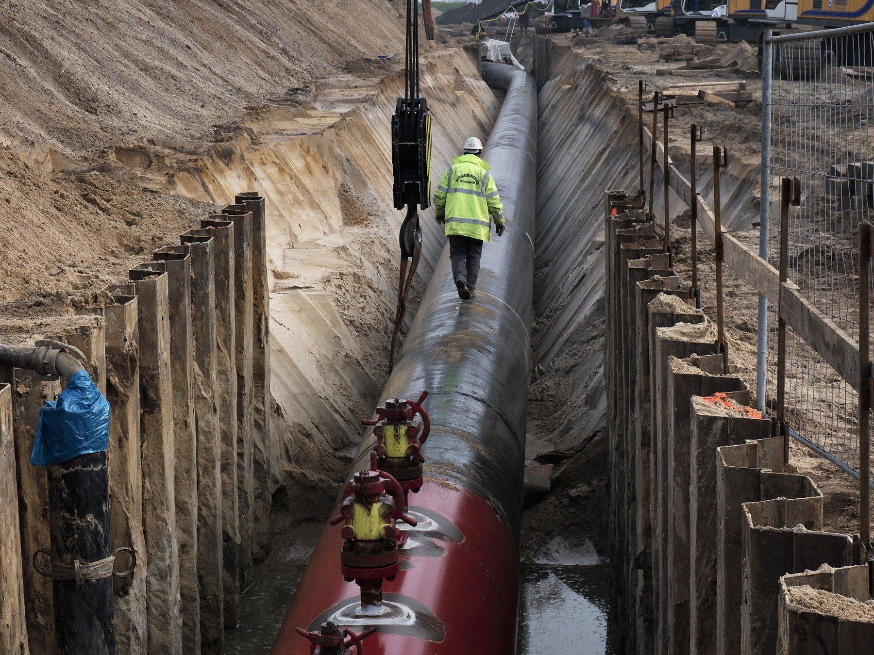 Gradnja plinovoda Sjeverni tok