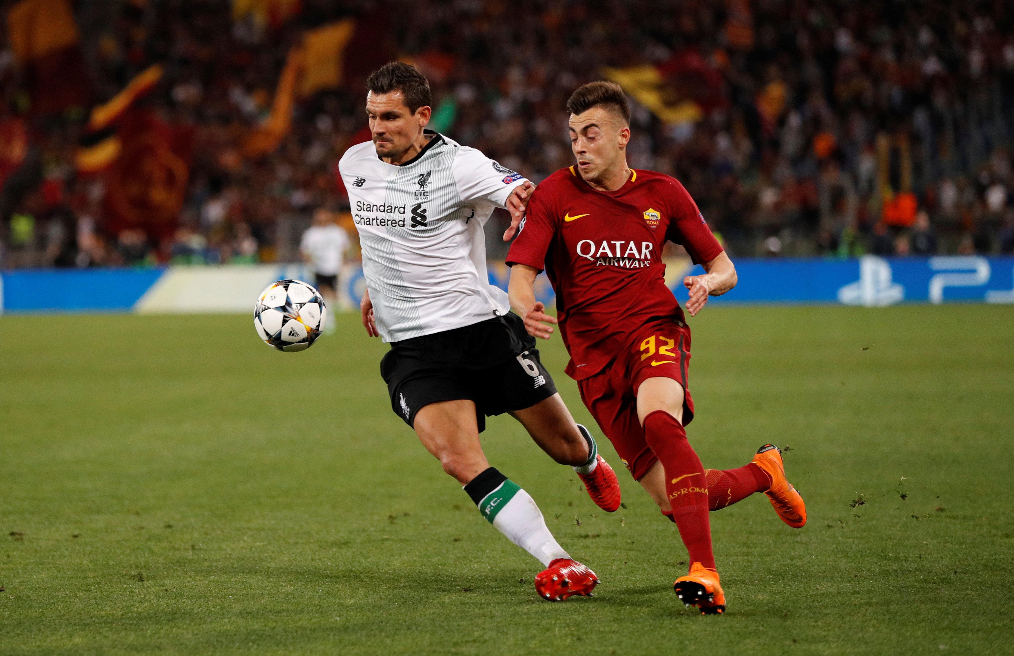 Dejan Lovren pretprošle je sezone u dresu Liverpoola igrao protiv Rome polufinale Lige prvaka