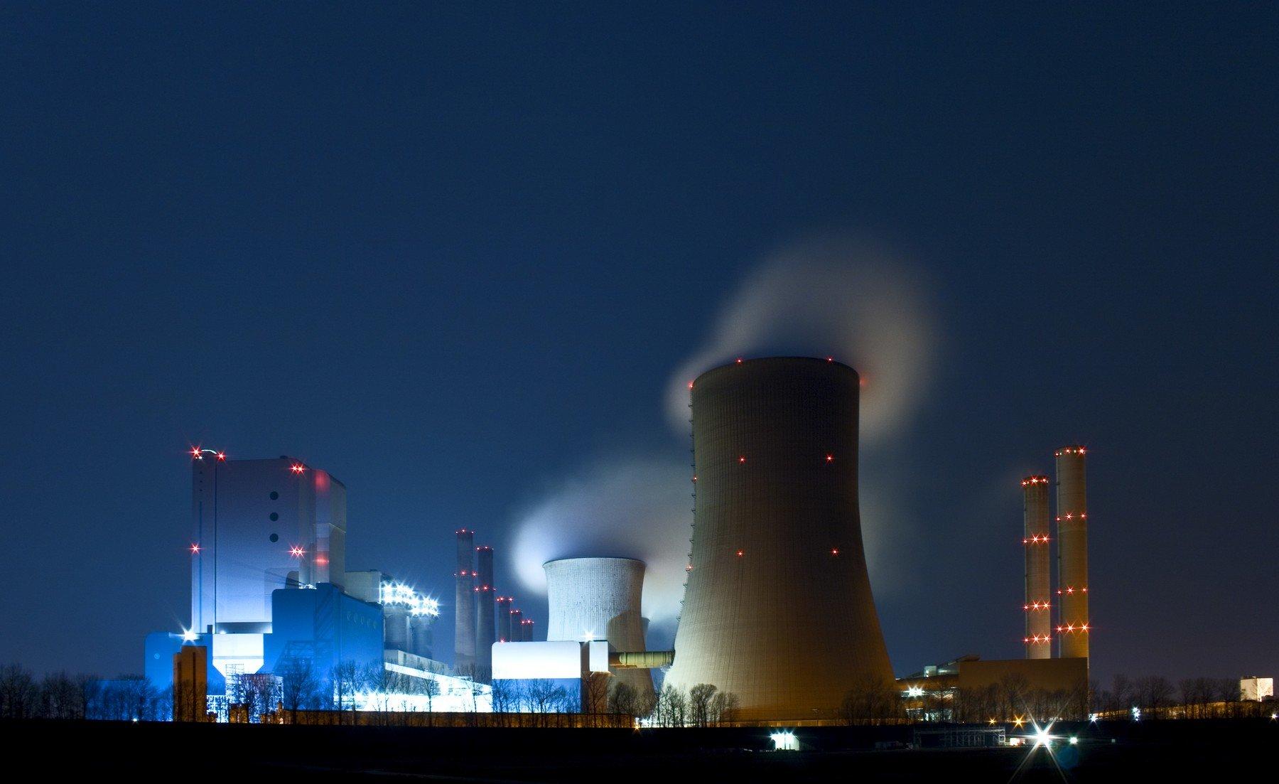 Ilustracija, nuklearna energija