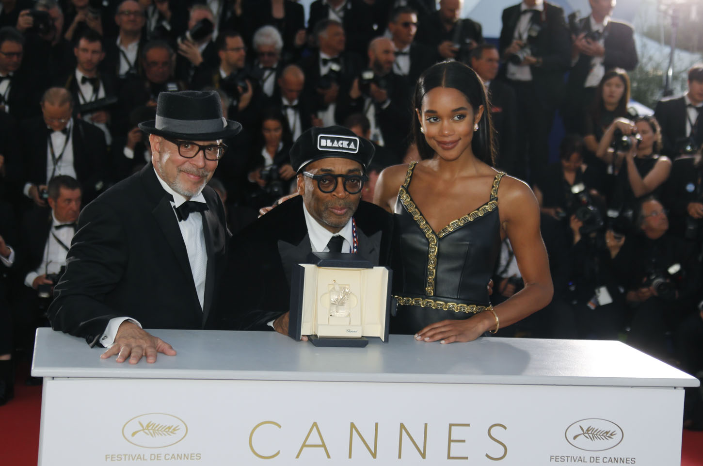 71st Cannes Film Festival - Photocall after Closing ceremony - Cannes, France, May 19, 2018. Director Spike Lee, Grand Prix award winner for his film