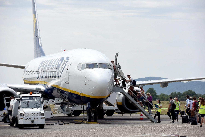 Ryanairov avion u Zračnoj luci Zadar