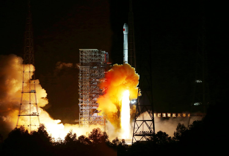 Ilustracija - lansiranje kineskog satelita i centra Xichang