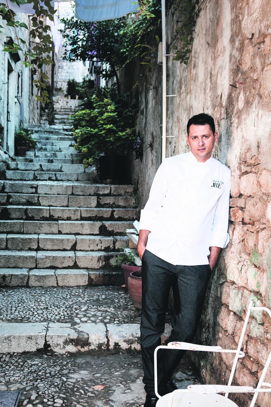 Dubrovnik 13092017 Restoran 369 Chef Marijo Curic i voditelj Rudolf Papac Foto Mario Kucera