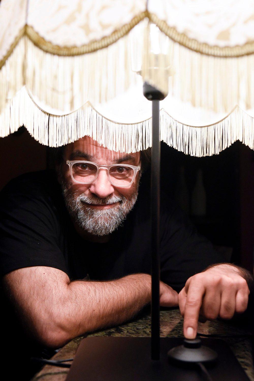 Zagreb, 090518. Frankopanska ulica. Filip Sovagovic, glumac i redatelj. Foto: Darko Tomas / CROPIX
