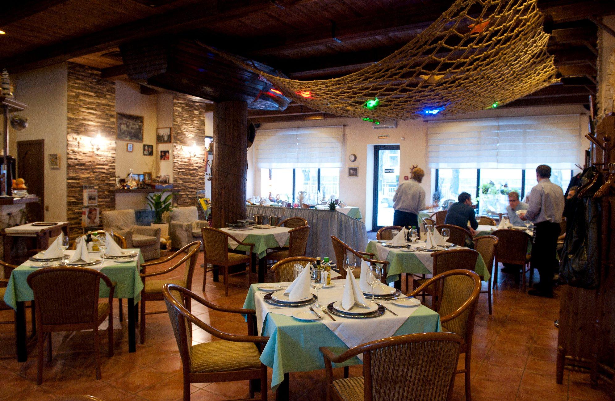 Riblji restoran u Rusiji
