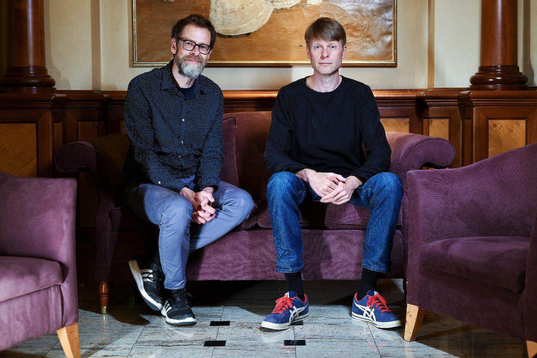 Morten Dürr i Lars Horneman