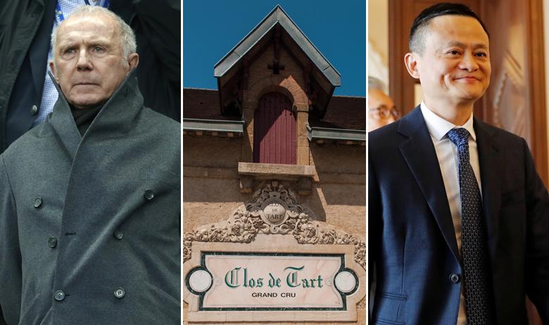 Francois Pinault, burgundijski posjed Clos de Tart, Jack Ma