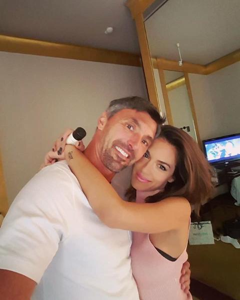 Nives Ivanišević u zagralju supruga