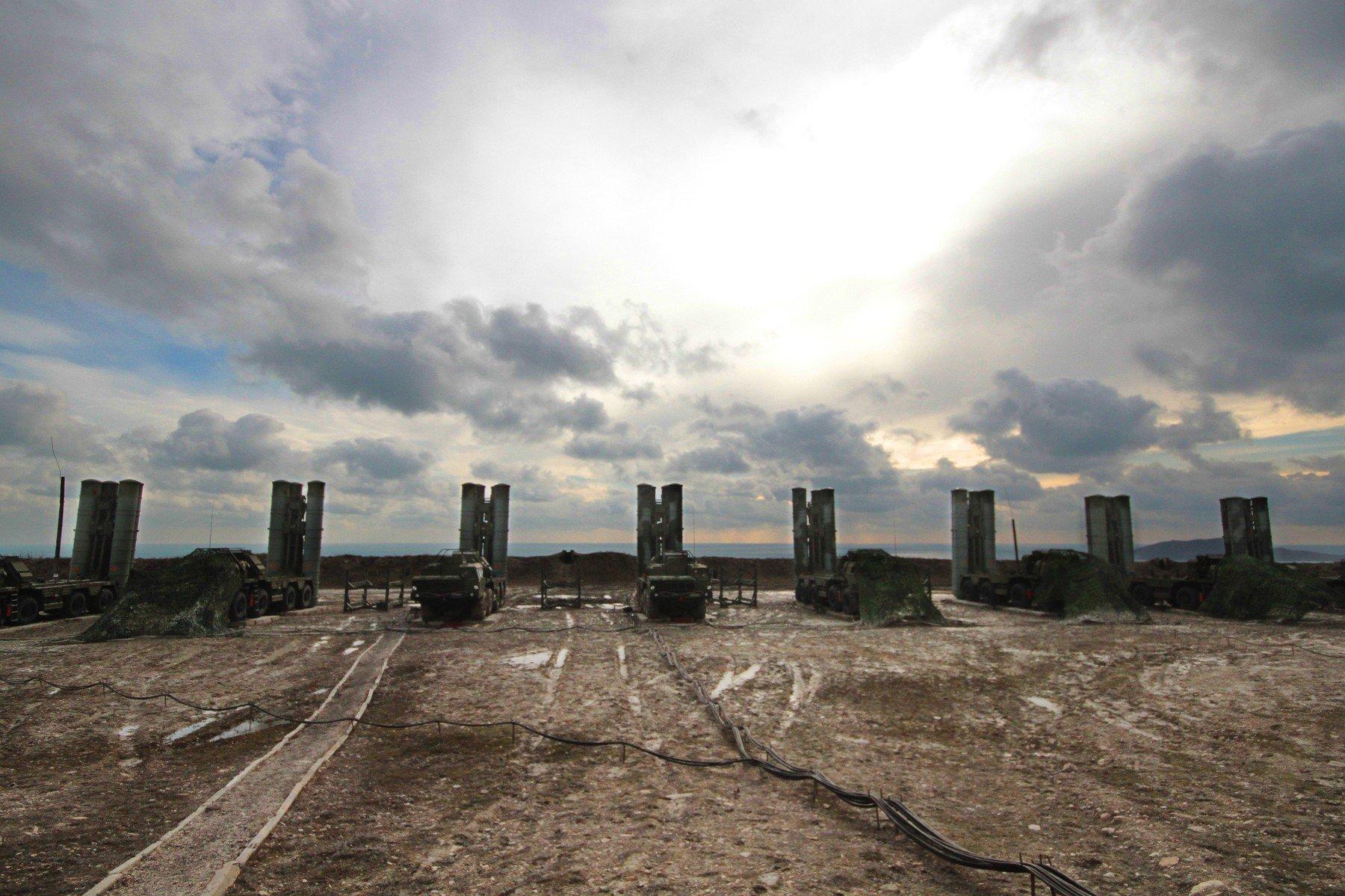 S-400 raketni sustavi na Krimu
