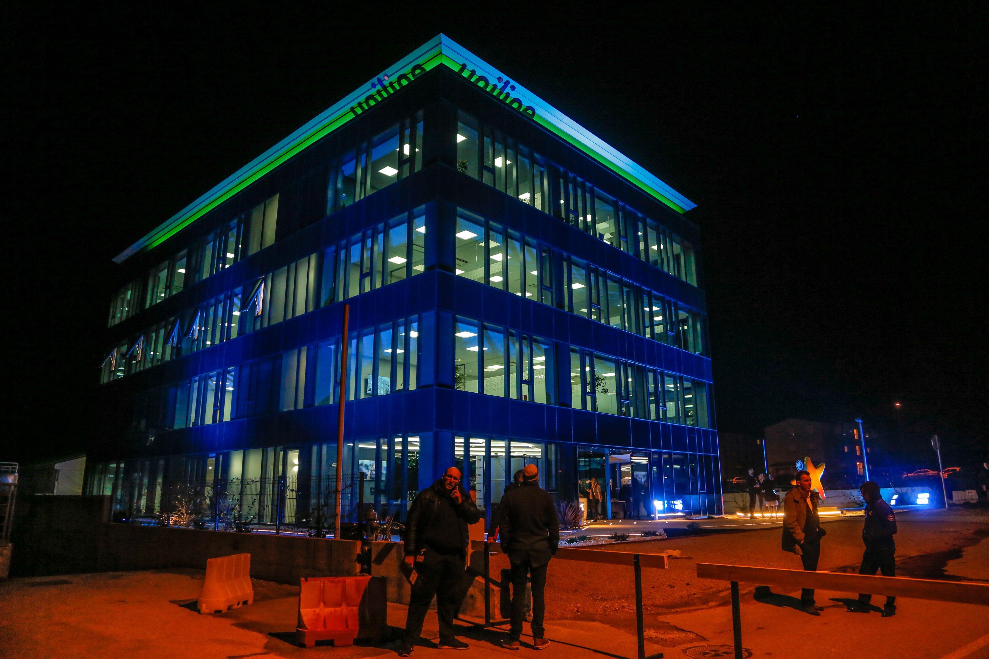 Otvorenje nove zgrade Uniline-a