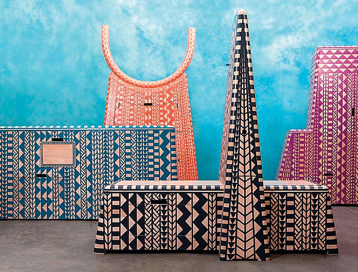 DOKTER AND MISSES Kassena kolekcija namještaja inspirirana drevnom arhitekturom www.dokterandmisses.com