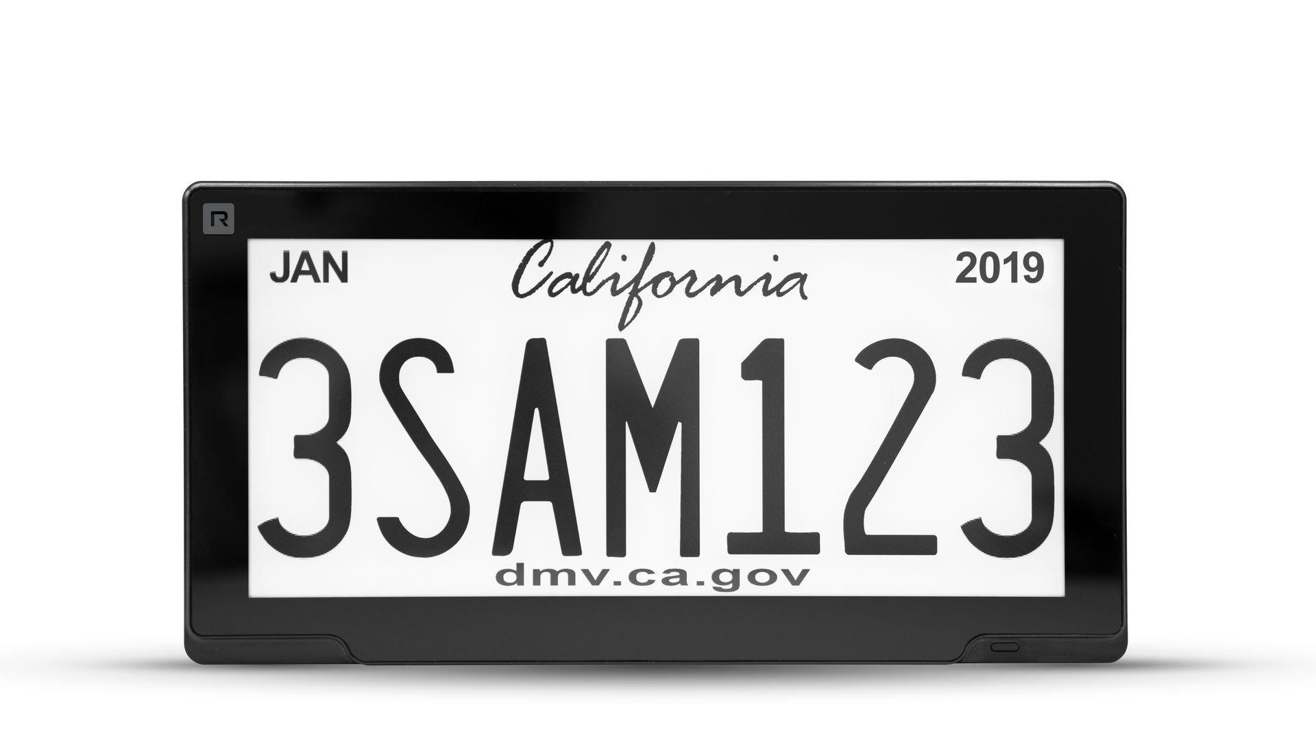 California-Digital-License-Plate-1