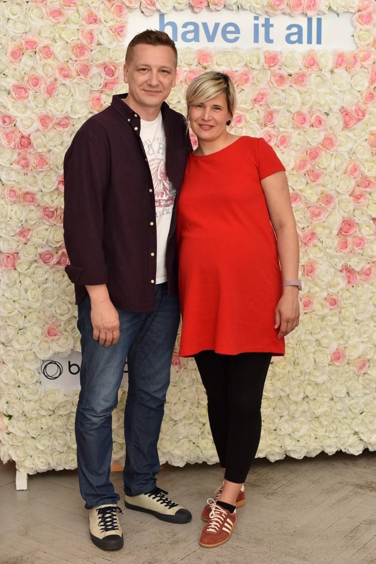 Tomislav Jelincic sa suprugom