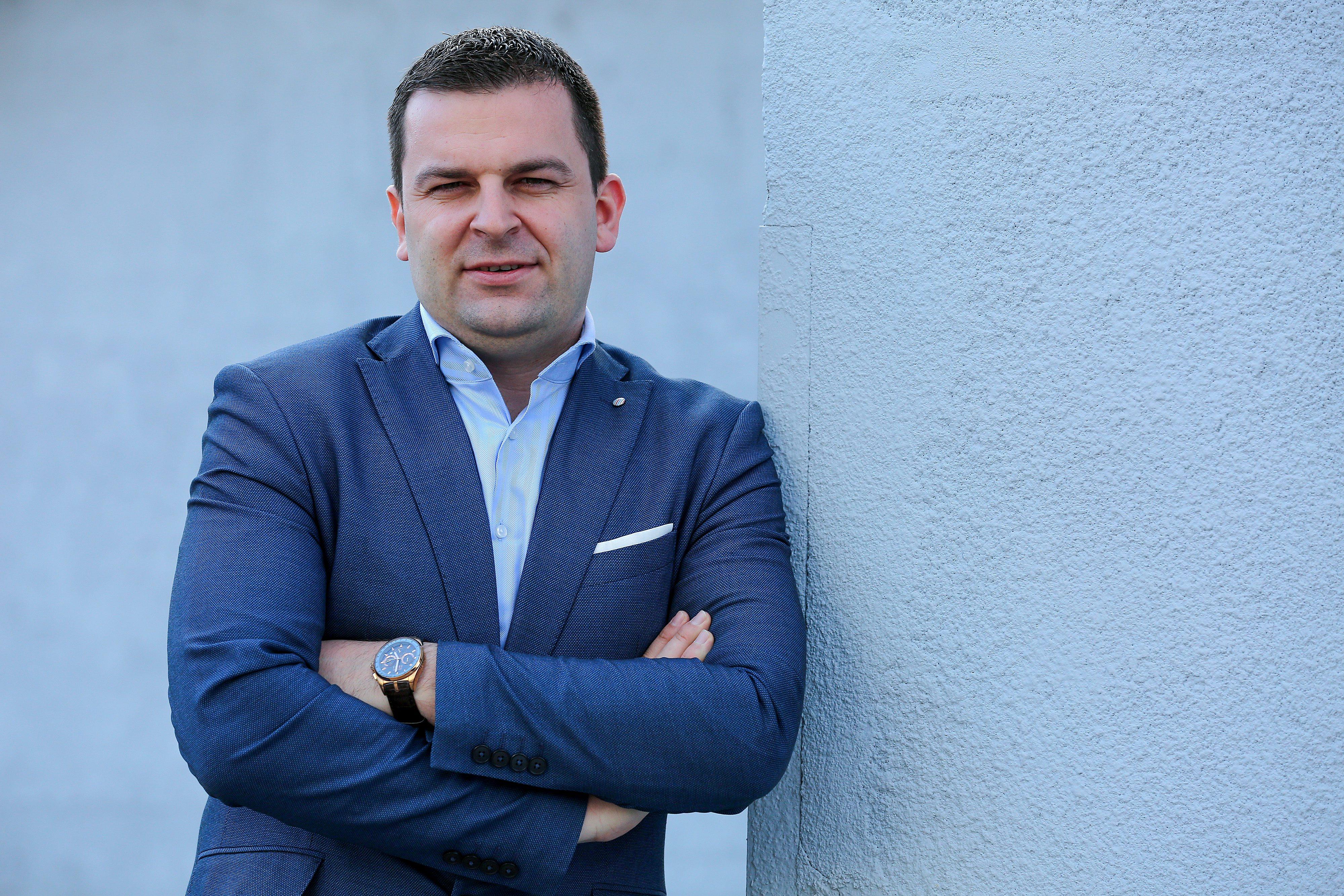 Dario Hrebak, gradonačelnik Bjelovara
