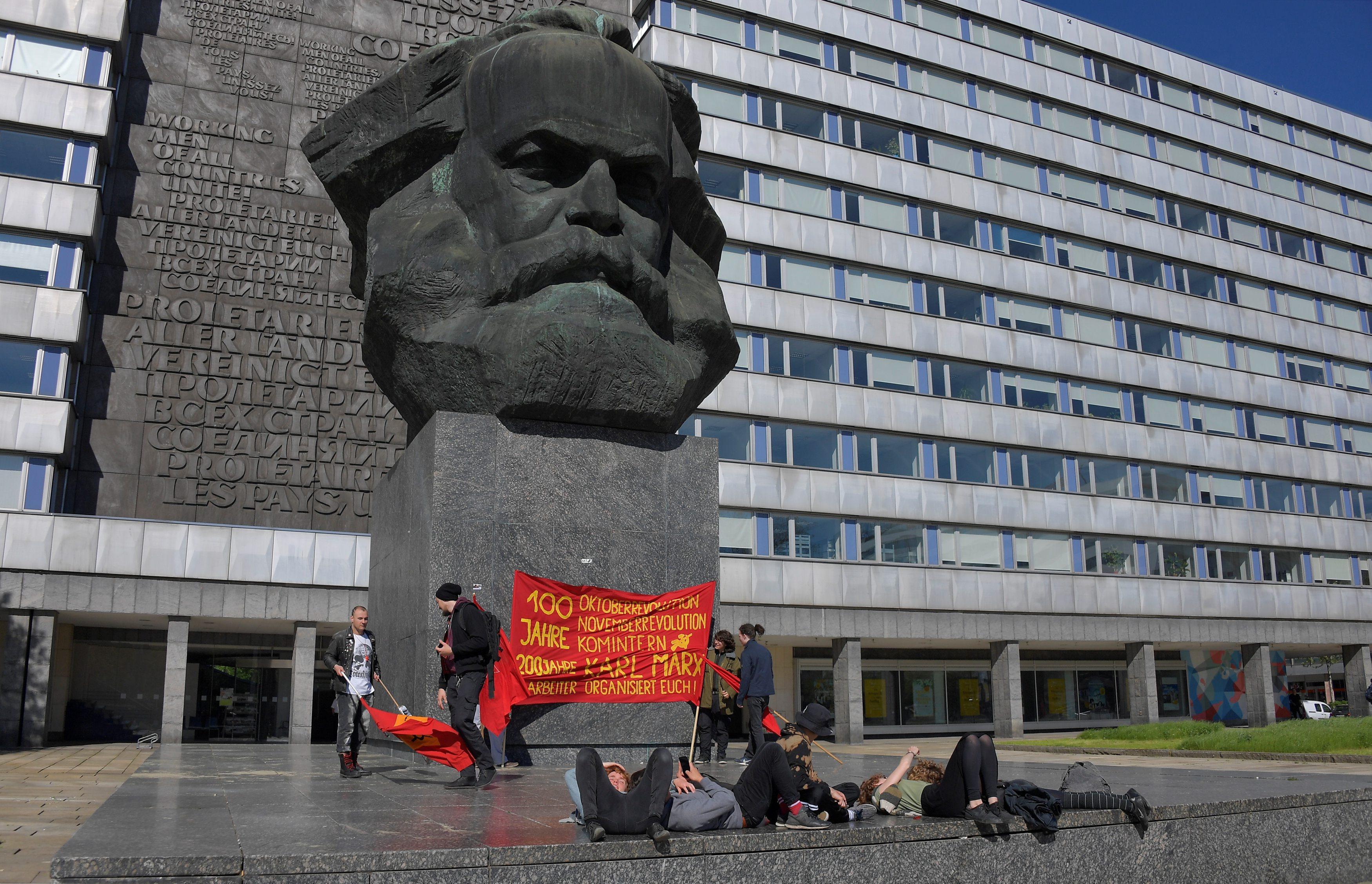 Spomenik Karlu Marxu u Chemnitzu, Njemačka