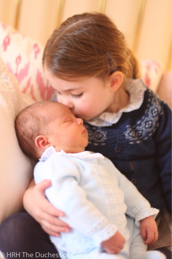 Princeza Charlotte i princ Louise