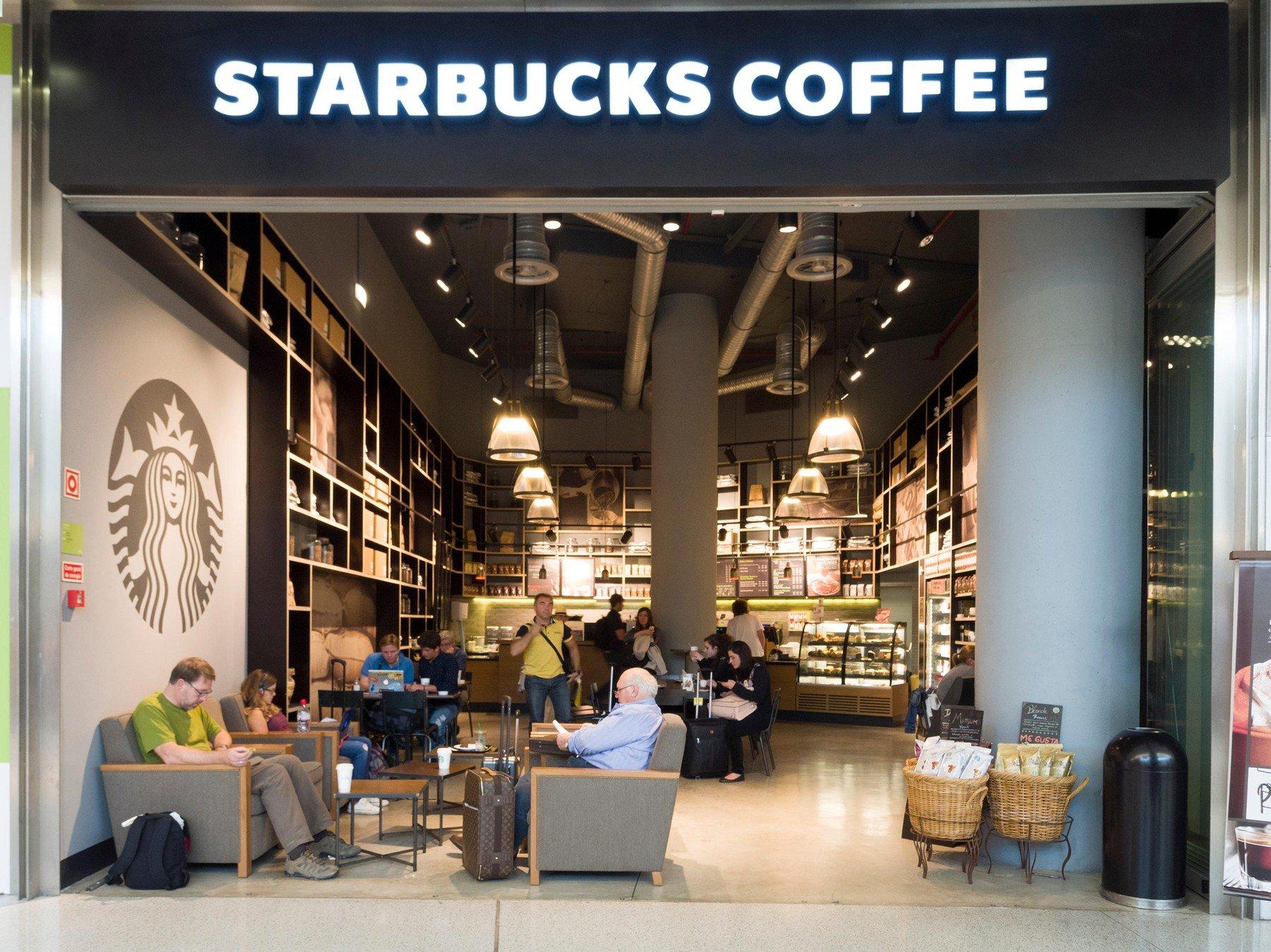 Starbucks, ilustracija