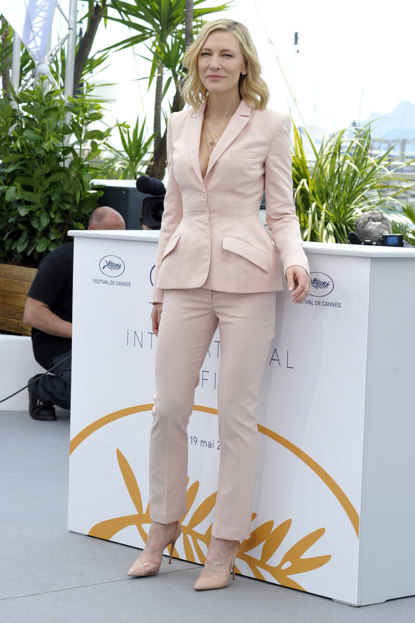 Jury members Khadja Nin, Lea Seydoux, Jury head Cate Blanchet, Ava DuVernay and Kristen Stewart attend the Jury photocall during the 71st annual Cannes Film Festival at Palais des Festivals           <P> Pictured: Cate Blanchett <B>Ref: SPL1693681  080518  </B><BR/> Picture by: Gigi Iorio / Splash News<BR/> </P><P> <B>Splash News and Pictures</B><BR/> Los Angeles:310-821-2666<BR/> New York:212-619-2666<BR/> London:870-934-2666<BR/> <span id=