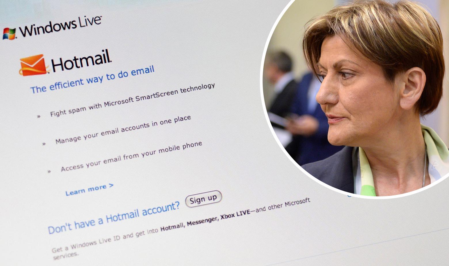 Hotmail i Martina Dalić u krugu