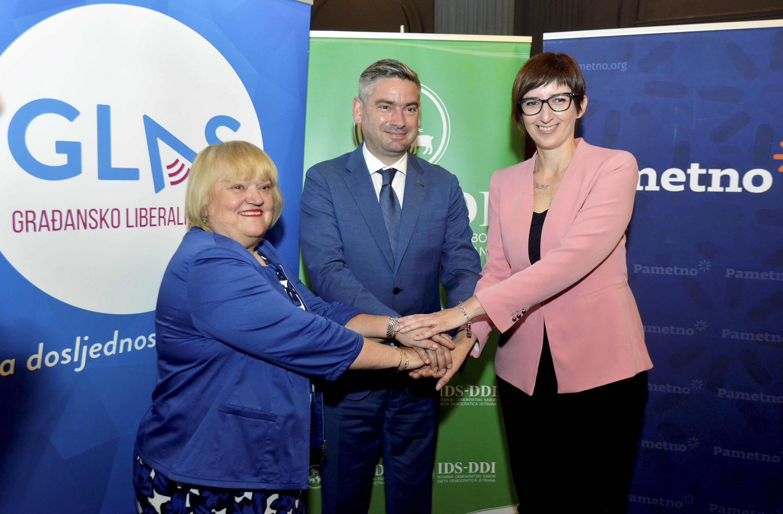 Anka Mrak Taritaš, Boris Miletić i Marijana Puljak