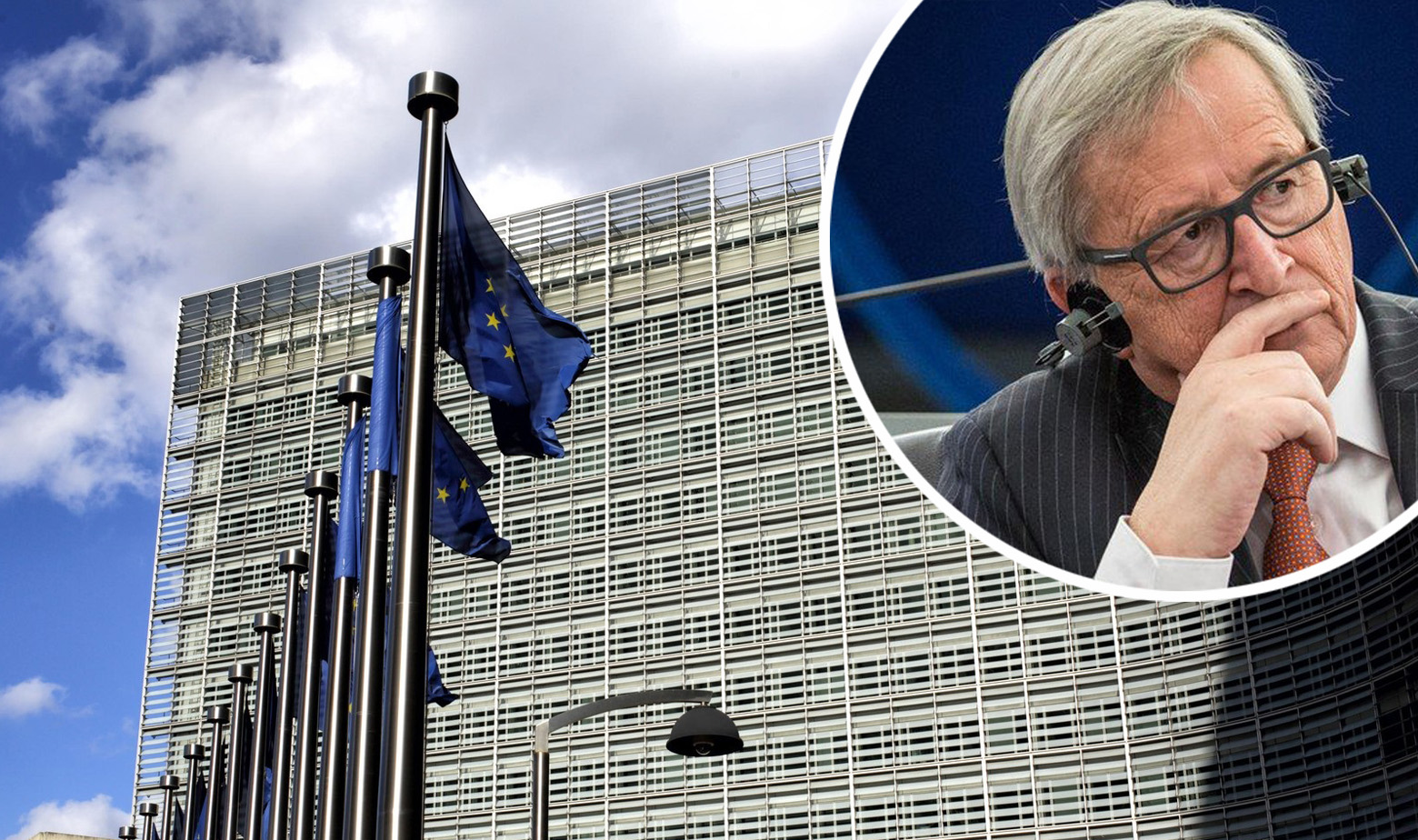 Jean Claude-Juncker i zgrada EK