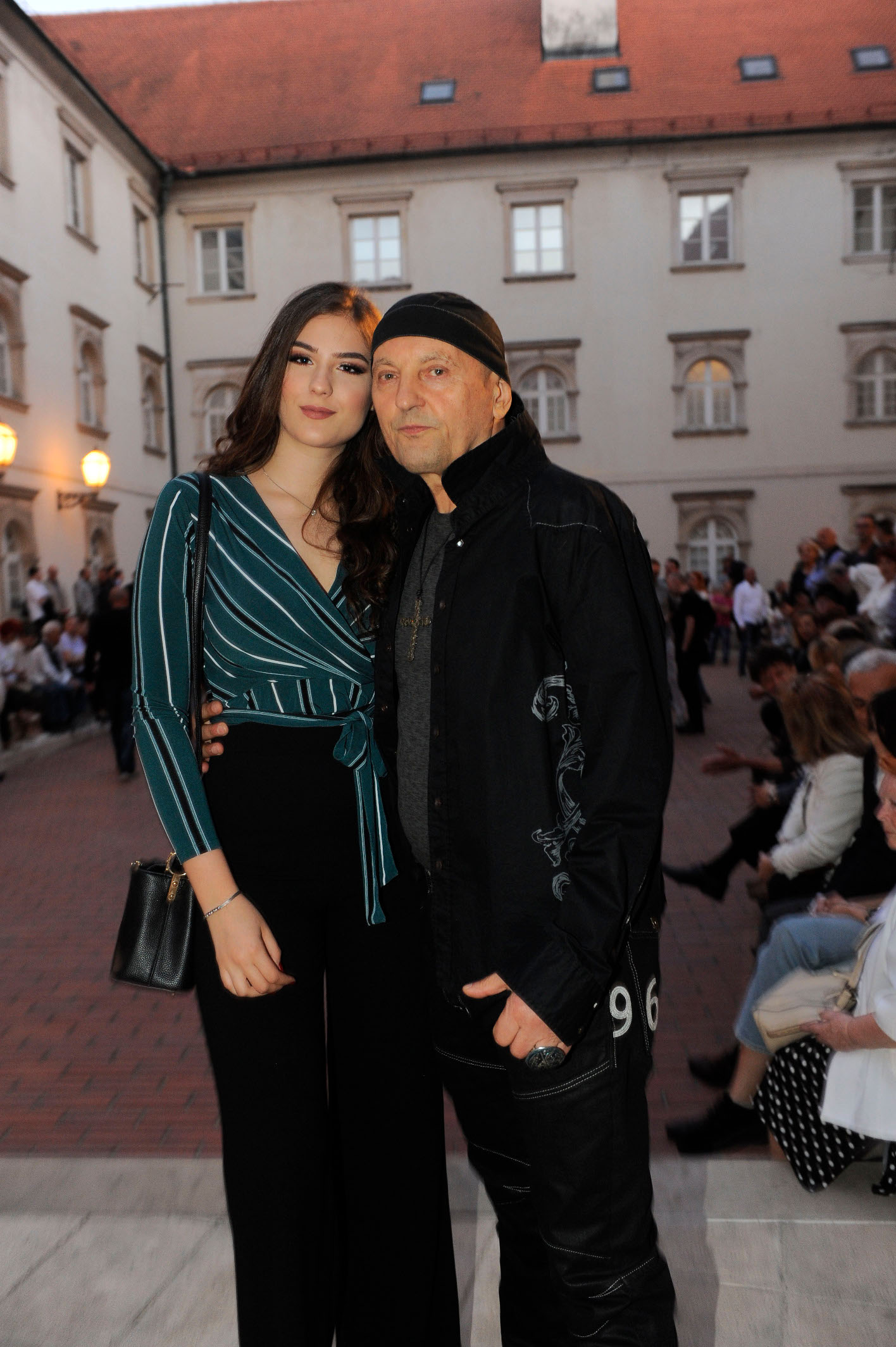 Stephan Lupino i kći Zita